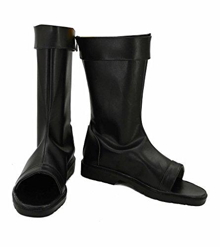 FUMAN Naruto Schuhe Cosplay Boots Stiefel Herren Schwarz 39