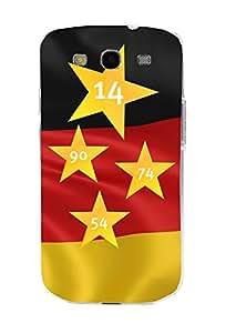 ArktisPRO 1122977 Deutschland Sterne Case für Samsung Galaxy S3 Mini