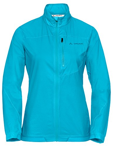 Vaude Damen Women's Moab UL Jacket Jacke, Cyan, 42