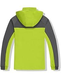 Hibote Chaqueta para Mujeres Hombre para Deportes Esquí Invierno Abrigo Impermeable Chaqueta de Nieve a Prueba Viento Excursionismo Ropa de Deporte M-3XL