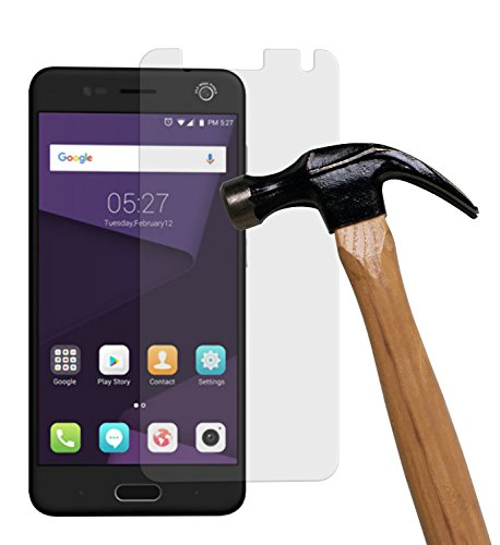 yayago Bildschirmschutzglas 0 26 mm Bildschirmschutzfolie für ZTE Blade V8 Mini Glasfolie Hartglas 9H (bewusst Kleiner als Das Bildschirm da Dieses gewölbt ist)
