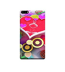 Ebby Premium Printed 3D Designer Back Case Cover For Huawei Honor 6 Plus (Premium Designer Cae)