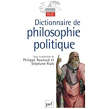 Dictionnaire de philosophie politique