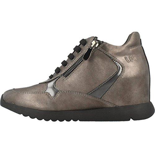 Boscaiolo Damen Selene Hohe Top Sneaker Metallic-farbe