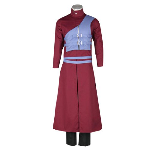 Dream2Reality japanische Anime Naruto Cosplay Kostuem - Gaara Outfit 7th Ver Small (Gaara Cosplay Kostüm)