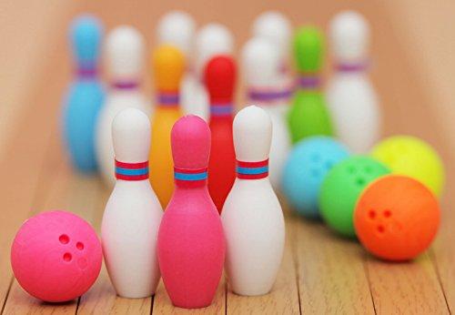 Iwako japanische Radierer / Kegeln Bowling Kugel (5 Farbe Sets)