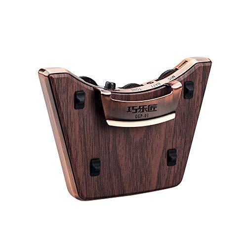 Muslady Schallloch Tonabnehmer Akustische Gitarre Dual Pickup Modi Piezo + Mic Unterstützt Lautstärketon Anpassen Phase Funktion Einfache Installation zum 36-42 Zoll Klassisch Folk-Gitarren - Gitarre Pickup-klassische
