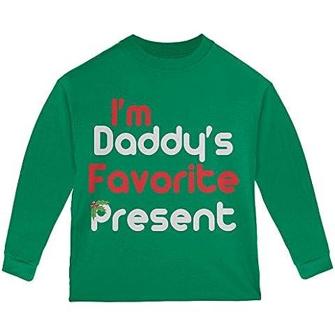 Preferito presenti Toddler verde manica lunga t-shirt di Natale