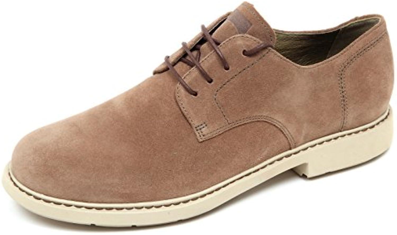 D4864 scarpa uomo CAMPER WITHOUT BOX suede beige shoe men -