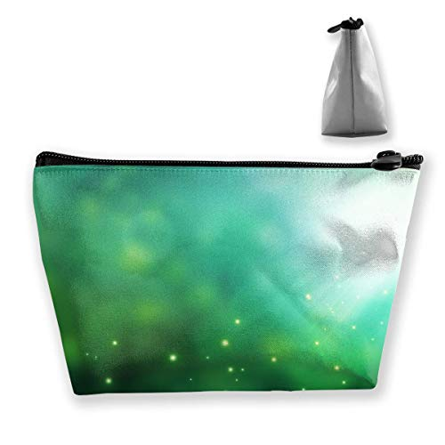 White Daisy Flowers in Bloom During Daytime Womens Travel Cosmetic Bag Portable Toiletry Brush Storage Large Capacity Pen Pencil Bags Accessories Sewing Kit Pouch Makeup Carry Case