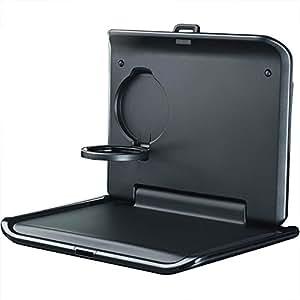 VOLKSWAGEN 000061124original Table pliante pour la appuie-tête avec porte-gobelet, Voyage intégré et système confort