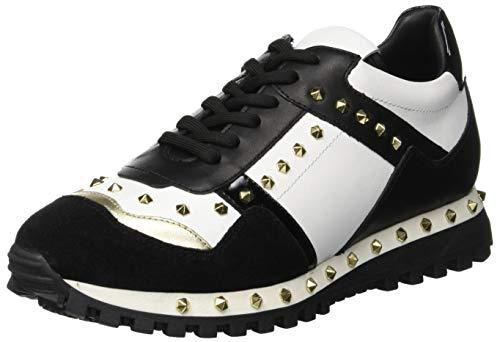 Twin Set CA8PAC Sneaker Donna, Multicolore (Bic.Nero Ottico) 41 EU