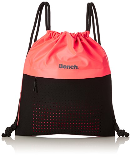 Bench Damen Gymbag Turnbeutel, Neon Bright Pink As Swatch, One Size