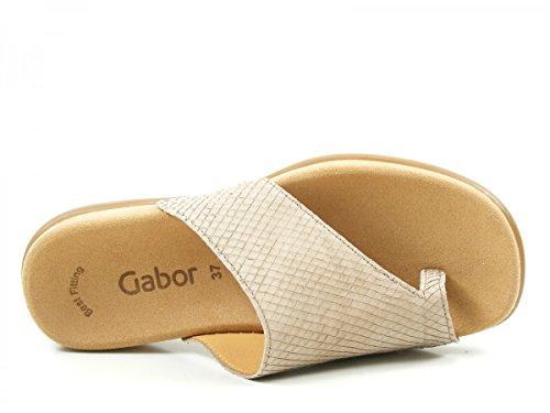 Gabor 63-700 Infradito donna Beige
