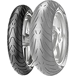 Pirelli Angel ST Tire - Front - 120/70ZR-17, Position: Front, Speed Rating: W, Tire Size: 120/70-17, Rim Size: 17, Load Rating: 58, Tire Type: Street, Tire Construction: Radial, Tire Application: Touring 1868400