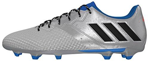 adidas Messi 16.3 Fg, Scarpe da Calcio Uomo Plata (Plamet / Negbas / Azuimp)