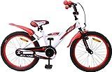 AMIGO - BMX Turbo - Bicicletta Bambini - 20'' (per 5-9 Anni) - Bianco