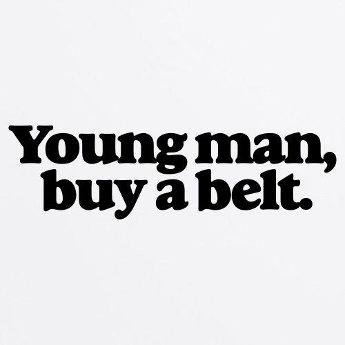 Young Man T-Shirt, Herren Wei