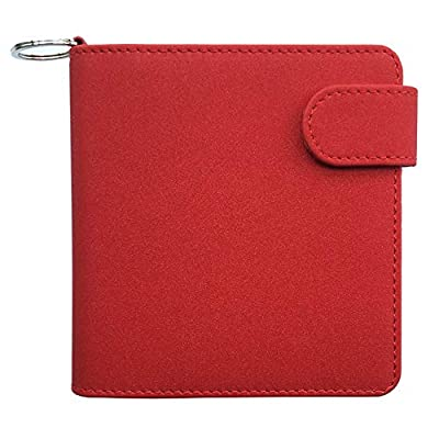 JOMA-E Shop Anti Scratch Full Protective Wallet Case for iQOS PU Leather Carrying Case Box Card Holder Pouch Bag for iQOS Electronic Cigarettes+Keychain by JOMA E-Shop