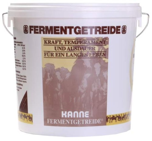 KANNE BIO Fermentgetreide für Pferde und Hunde 7kg Eimer -