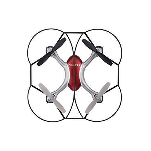 Propel Zipp Nano 2.0 Battery Operated 3-Speed Setting Remote Control Indoor/Outdoor Drone in Red