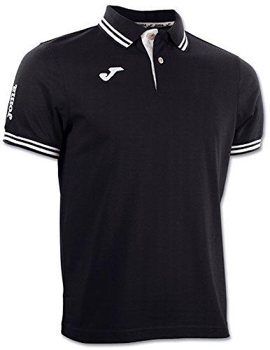 Joma Bali - Polo para hombre, color negro, talla L