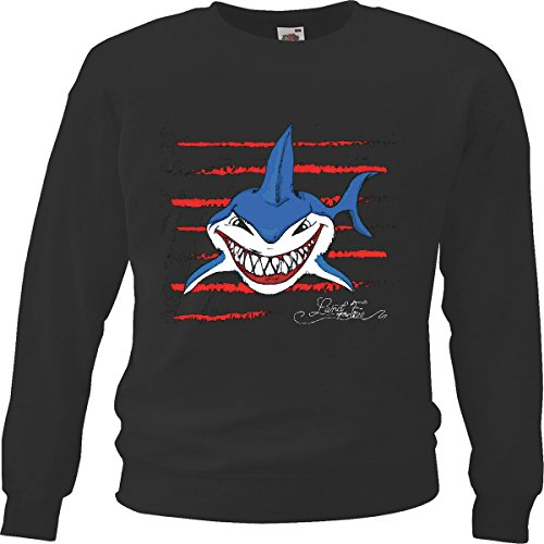 Shark Kinder Sweatshirt (Sweatshirt Kinder
