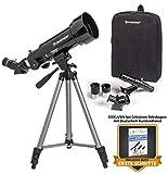 Celestron TravelScope 70 Teleskop 70/400 Reiseteleskop mit praktischem Rucksack und leichtem Aluminium-Stativ mit viel Zubehör – Fernrohr für Natur- und Himmelsbeobachtungen