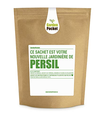 Garden Pocket - Kit de culture d'herbes aromatiques PERSIL - Sac de pot de fleur