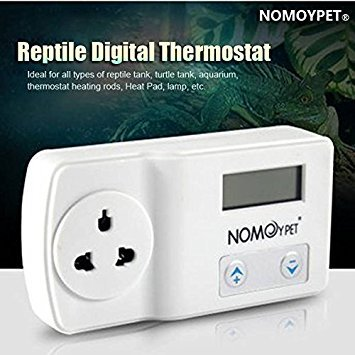 Bazaar NOMOY 220-240V Reptile Digital-Thermostat Hitze-Auflage-Matte Lampe Terrarium Temperaturregler - Hitze Matte Thermostat
