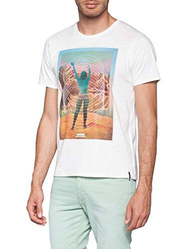 Herren T-Shirt O'Neill Ready T-Shirt powder white