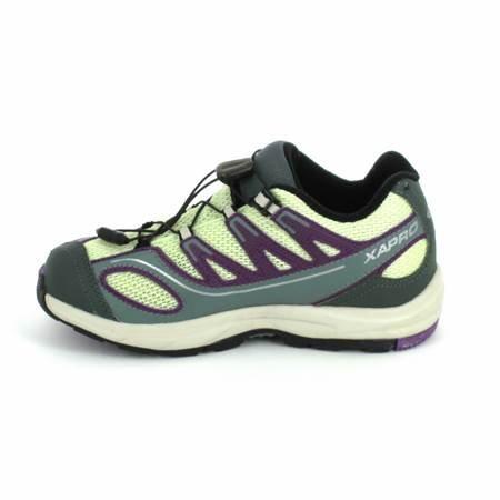 SALOMON XA Pro K Vert Violet Vert