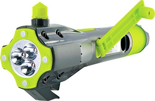 SCHWAIGER -425- Notfallhammer mit Gurtschneider/Sicherheit im Auto (weitere Werkzeuge wie Taschenlampe, Notfall-Lampe, Powerbank oder Kompass) / Nothammer/Scheibenhammer/Gurtmesser/Rescue Tool