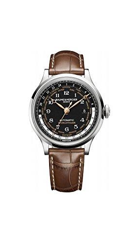 baume-y-mercier-worldtimer-automatico-negro-dial-brown-cuero-hombres-reloj-de-moa10134