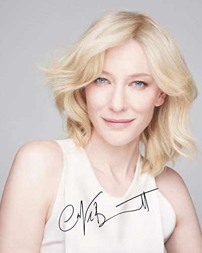 FRAME SMART CATE Blanchett #2 | gedrucktes Unterschriftenfoto | 10x8 Größe passt 10x8 Zoll Rahmen | Fotoqualität Labordrucker | Fotoanzeige | Geschenk Sammlerstück