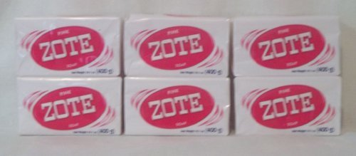 Pink Zote Soap Pink Zote Laundry Whitening Soap (6 Bar Pack)