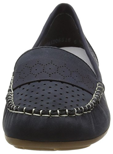 Rieker 40058 Women Mocassins, Mocassins (loafers) femme Bleu Marine