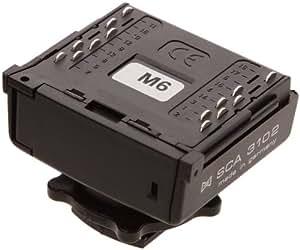 Metz SCA 3102 M6 Canon EOS et Numérique avec flash intégré 70 MZ, 54 MZ, 50 MZ-5, 44 MZ-2, 40 MZ, 32 MZ-3, 32 Z-2 et poignée G16 (+SCA 3000A) et 60 CT 4, 45 CL/CT 4,3, poignée G 15 (+SCA 3000C)