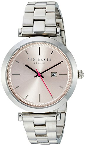TE10031521 Ted Baker Ladies Womens Stainless Steel Quartz Battery Watch on Bracelet with Date