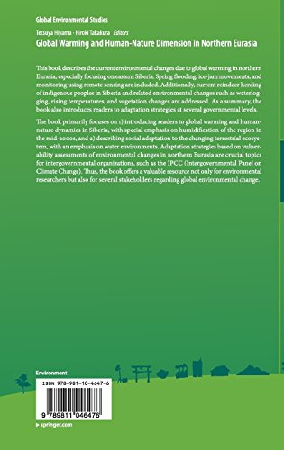 Global Warming and Human - Nature Dimension in Northern Eurasia (Global Environmental Studies)