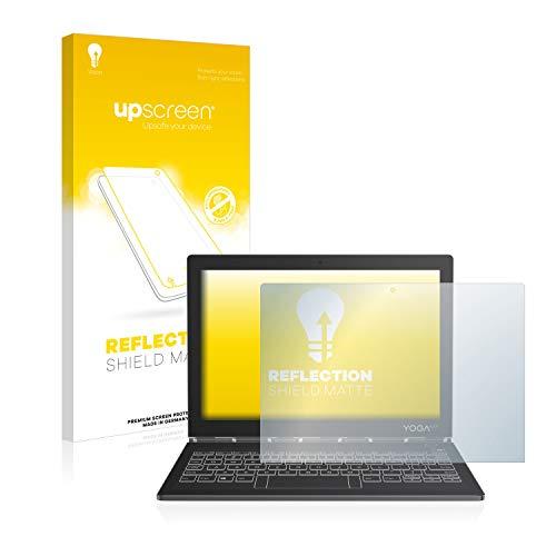 upscreen Matt Schutzfolie kompatibel mit Lenovo Yoga Book C930 - Entspiegelt, Anti-Reflex, Anti-Fingerprint