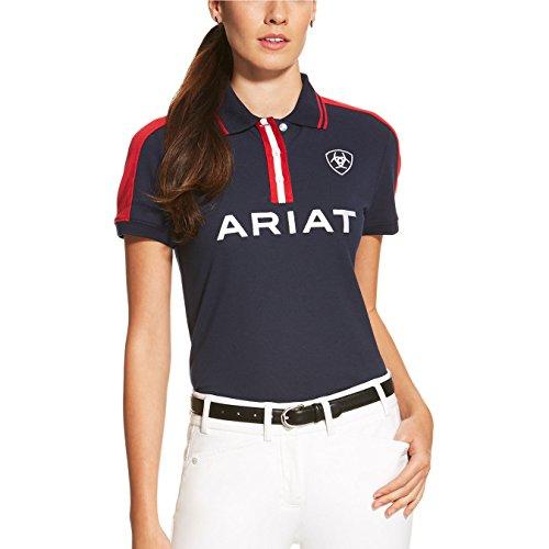Ariat Team Women's Polo Shirt Navy
