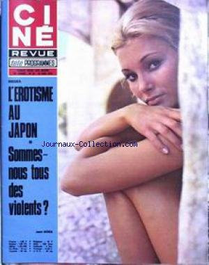 Cine Tele Revue 1972 - CINE TELE REVUE [No 25] du