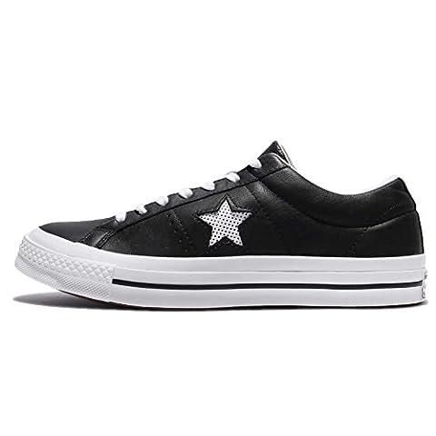 Converse One Star Ox Black/White/White, Basses mixte adulte - noir