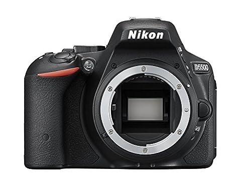 Nikon D5500 Appareil photo numérique Réflex 24 Mpix Boîtier Nu - Noir