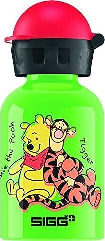 Sigg Kid's Winnie the Pooh Bottle - Green, 0.3 Litre by Disney