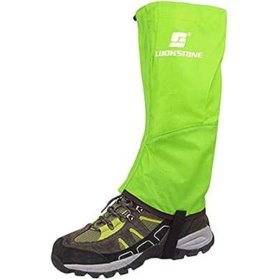 Erwachsene Bein Gamaschen Wasserdichte Schnee Gamaschen Anti-reiß für Outdoor Wandern Ski Klettern Bein Boot Cover für Männer Frau