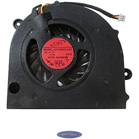 Toshiba Satellite L500 L500D L505 L505D L550D L555 Procesador del ordenador portátil ventilador,
