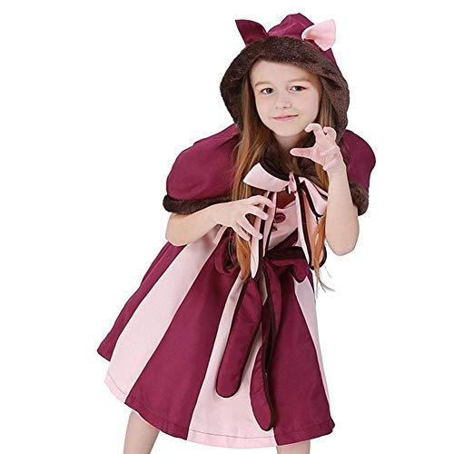 Schmetterling Kostüm Fett - DUQA Kinder Lila Maskerade Kleid Halloween Kinderkleidung Ma?e 60-51-63