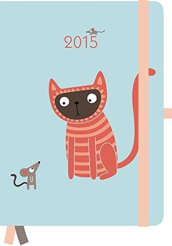 2015 Kate Larsen Cats GreenLine Diary 16 x 22cm
